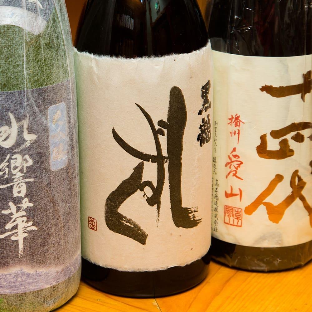 Variety of sake